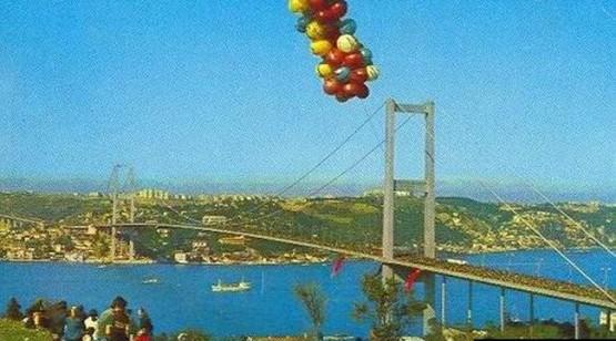 Boğaziçi Köprüsü İnşaat Görüntüleri