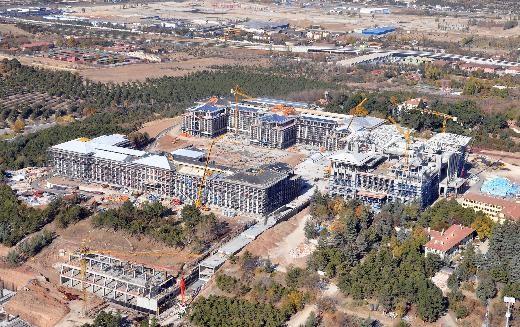 Yeni Başbakanlık Binası İnşaat Görüntüleri