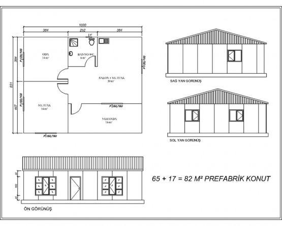 Prefabrik Yapı Projeleri