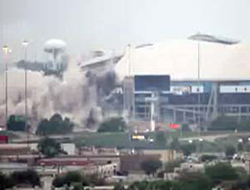 Dev Stad 25 Saniyede Yıkıldı